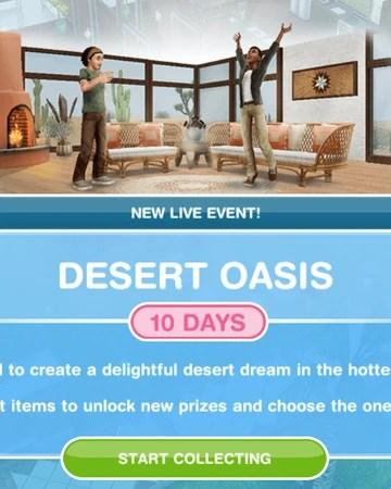 Sims Freeplay Back To The Wall : freeplay, Desert, Oasis, Freeplay, Fandom