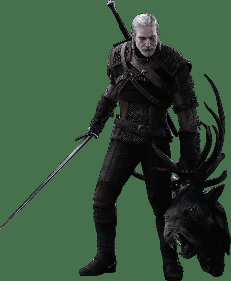 Geralt De Riv The Witcher 1 : geralt, witcher, Geralt, Sorceleur, Fandom