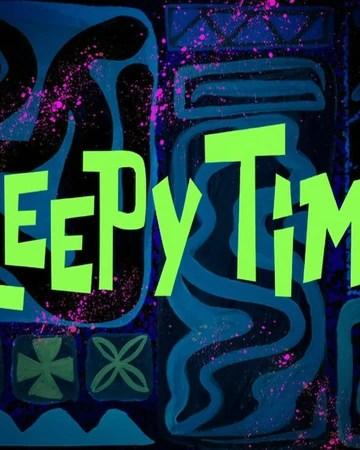 Heyyyy Whatcha Doin Spongebob : heyyyy, whatcha, spongebob, Sleepy, Time/transcript, Encyclopedia, SpongeBobia, Fandom