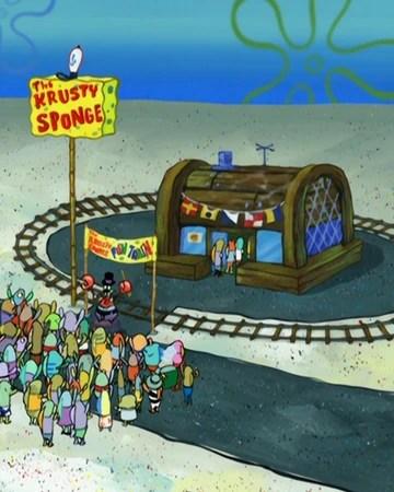 Sponge Treatment Spongebob : sponge, treatment, spongebob, Krusty, Sponge, Encyclopedia, SpongeBobia, Fandom