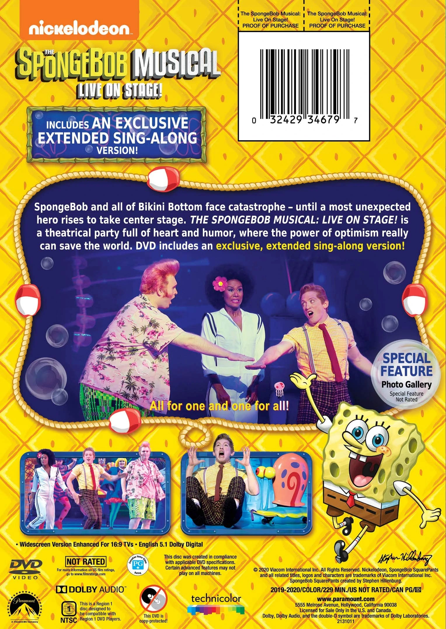 Spongebob Musical Nickelodeon Date : spongebob, musical, nickelodeon, SpongeBob, Musical:, Stage!, (DVD), Encyclopedia, SpongeBobia, Fandom
