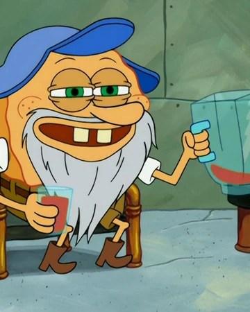 Spongebob Grandpa : spongebob, grandpa, Captain, SquarePants, Encyclopedia, SpongeBobia, Fandom