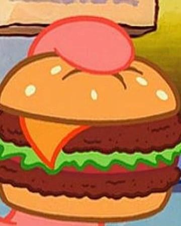 The Krabby Patty : krabby, patty, Deluxe, Krabby, Patty, Encyclopedia, SpongeBobia, Fandom