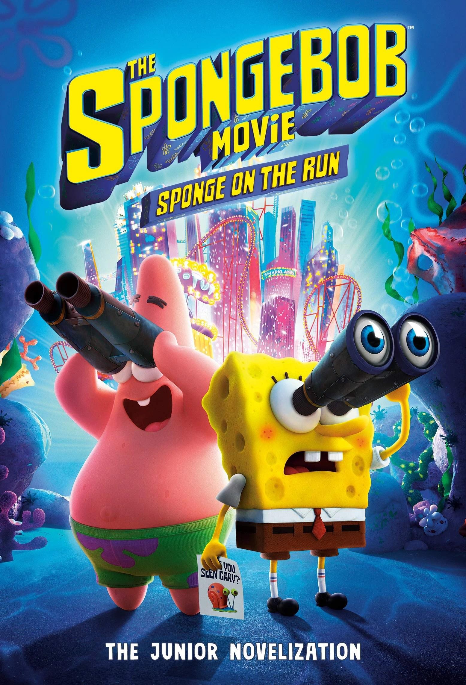 The Spongebob Movie It's A Wonderful Sponge : spongebob, movie, wonderful, sponge, SpongeBob, Movie:, Sponge, Junior, Novelization, Encyclopedia, SpongeBobia, Fandom