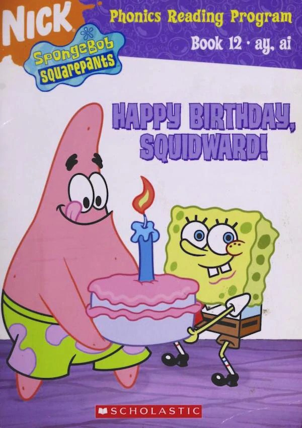 World Languages - Watch how Squidward sings the Happy Birthday...