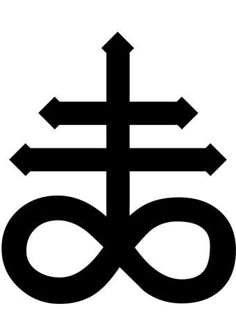 Inverted Cross Emoji : inverted, cross, emoji, Leviathan, Cross, Symbolism, Fandom