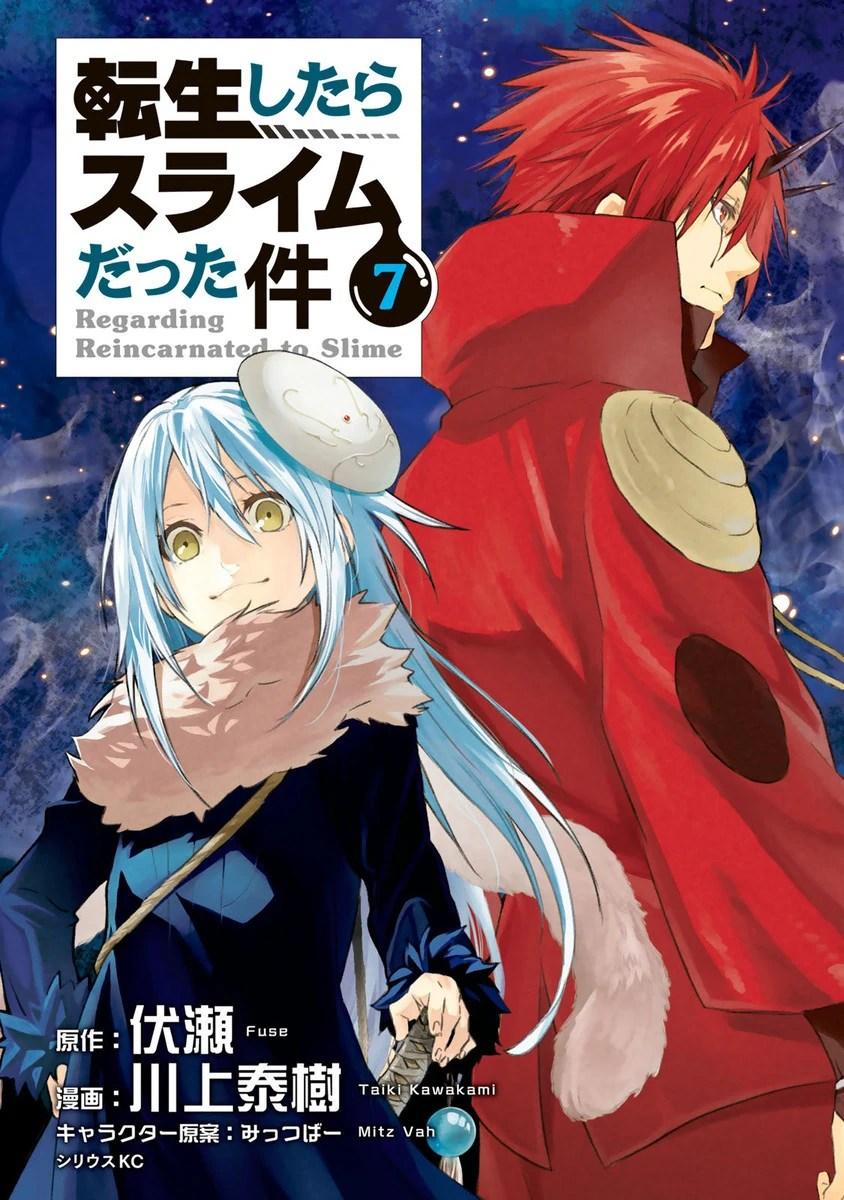 Buat yang baca ln atau gak masalah spoiler, rekomendasi. Manga Volume 7 Tensei Shitara Slime Datta Ken Wiki Fandom