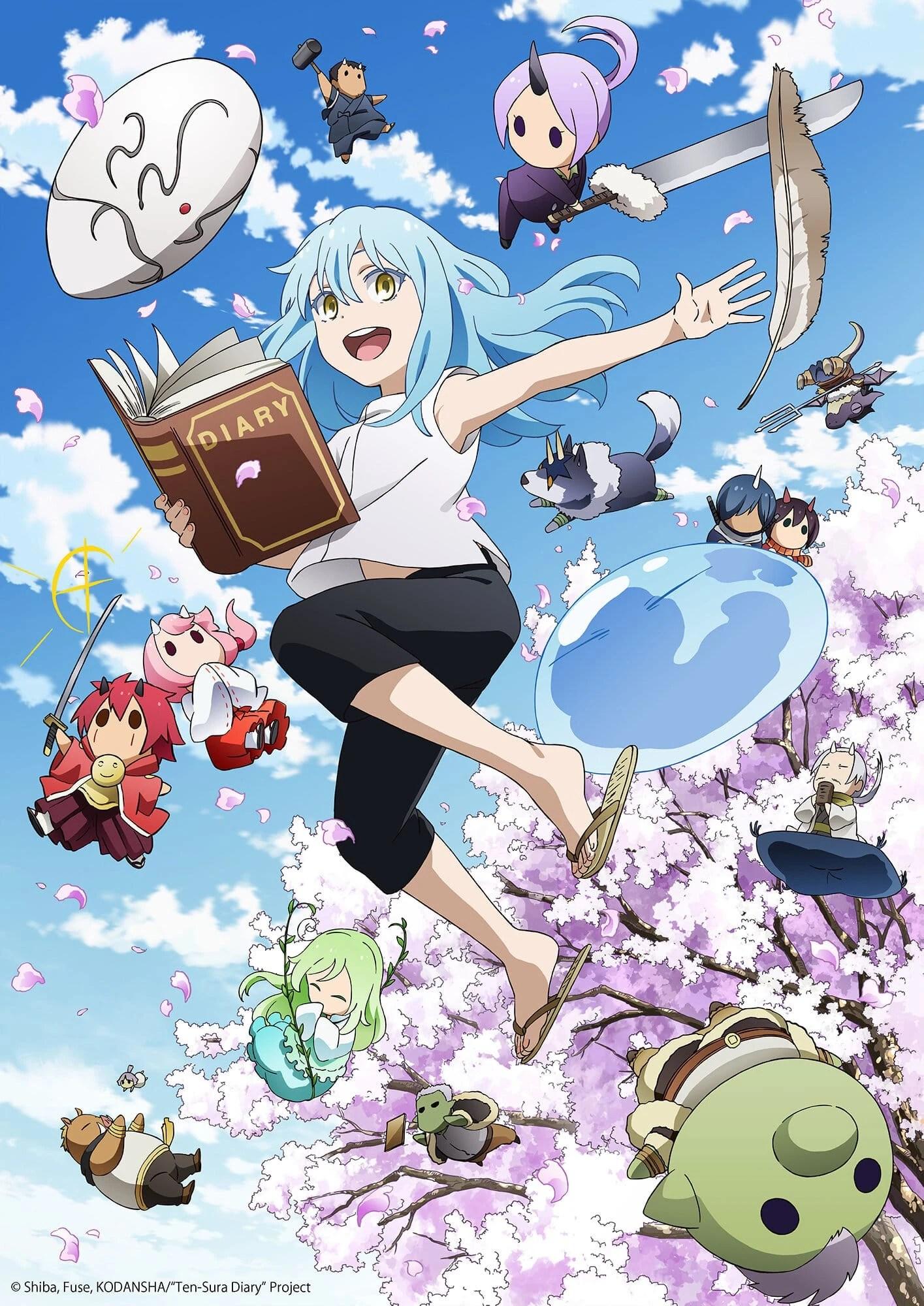 Tensei Shitara Slime Datta Ken - Episode 1 Vostfr : tensei, shitara, slime, datta, episode, vostfr, Anime, Tensei, Shitara, Slime, Datta, Fandom