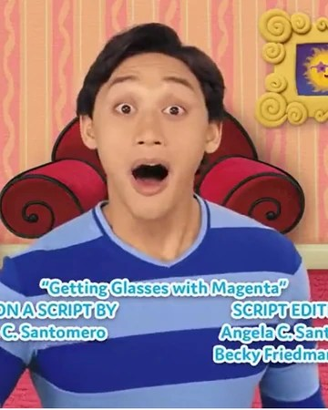 Blue's Clues And You Playdate With Magenta : blue's, clues, playdate, magenta, Getting, Glasses, Magenta, Blue's, Clues, Fandom