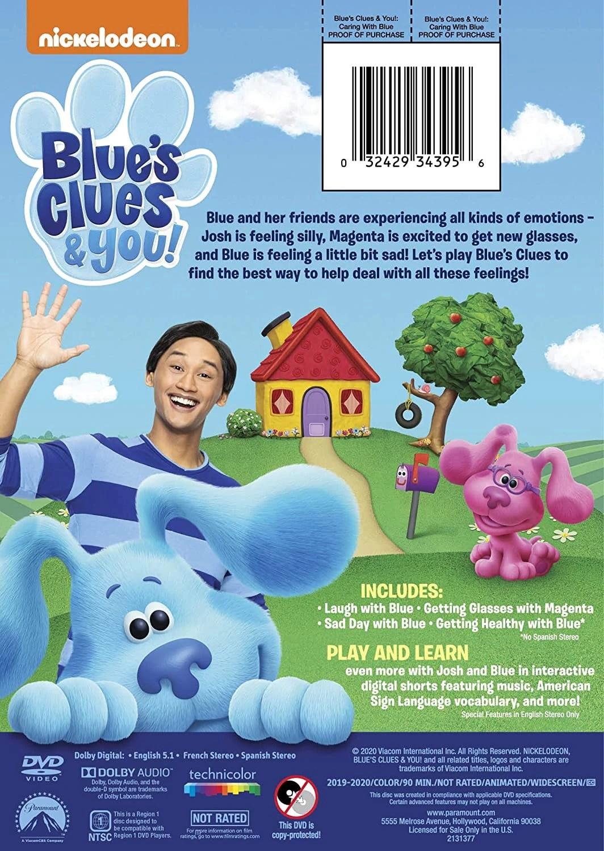 Blue's Clues Season 1 Dvd : blue's, clues, season, Caring, Blue's, Clues, Fandom