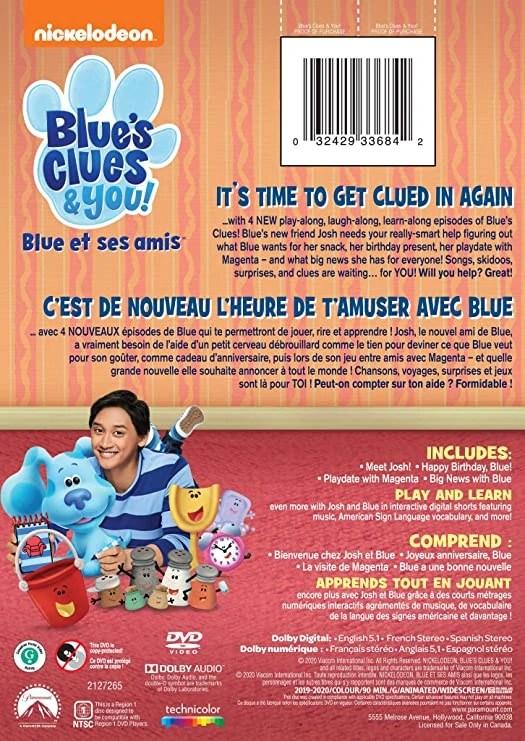 Blue's Clues Season 1 Dvd : blue's, clues, season, Blue's, Clues, (DVD), Fandom