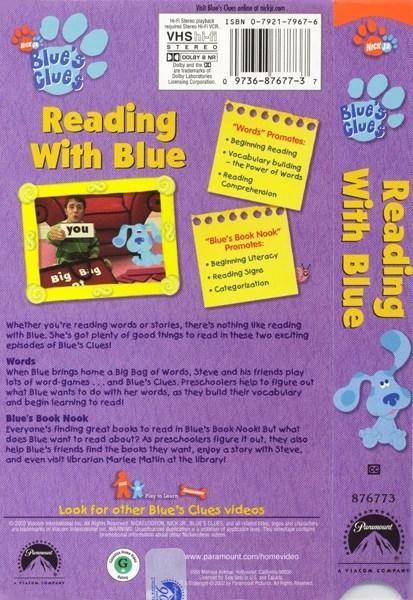 Blue's Clues Words : blue's, clues, words, Reading, Blue's, Clues, Fandom