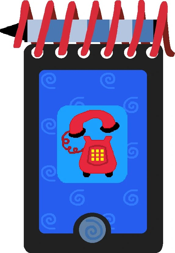 Blue's Clues Notebook Phone : blue's, clues, notebook, phone, Handy, Dandy, Phone, Blue's, Clues, Fandom
