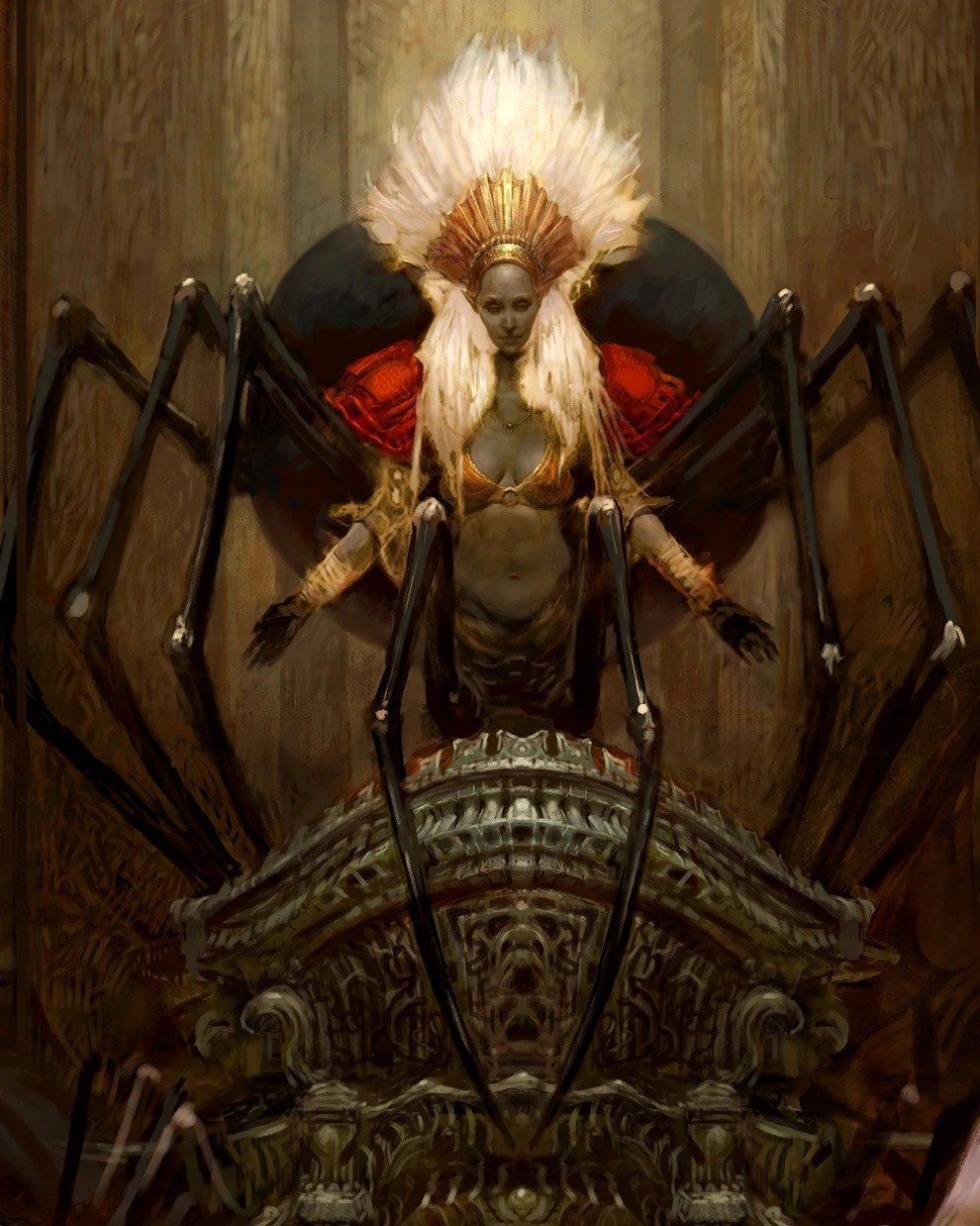 Queen Of The Demonweb Pits : queen, demonweb, Lolth, Travelogue, Fandom
