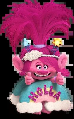 queen poppy trolls film wikia fandom