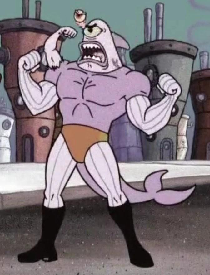 Klaus Klaus Klaus Spongebob : klaus, spongebob, Atomic, Flounder, Villains, Fandom