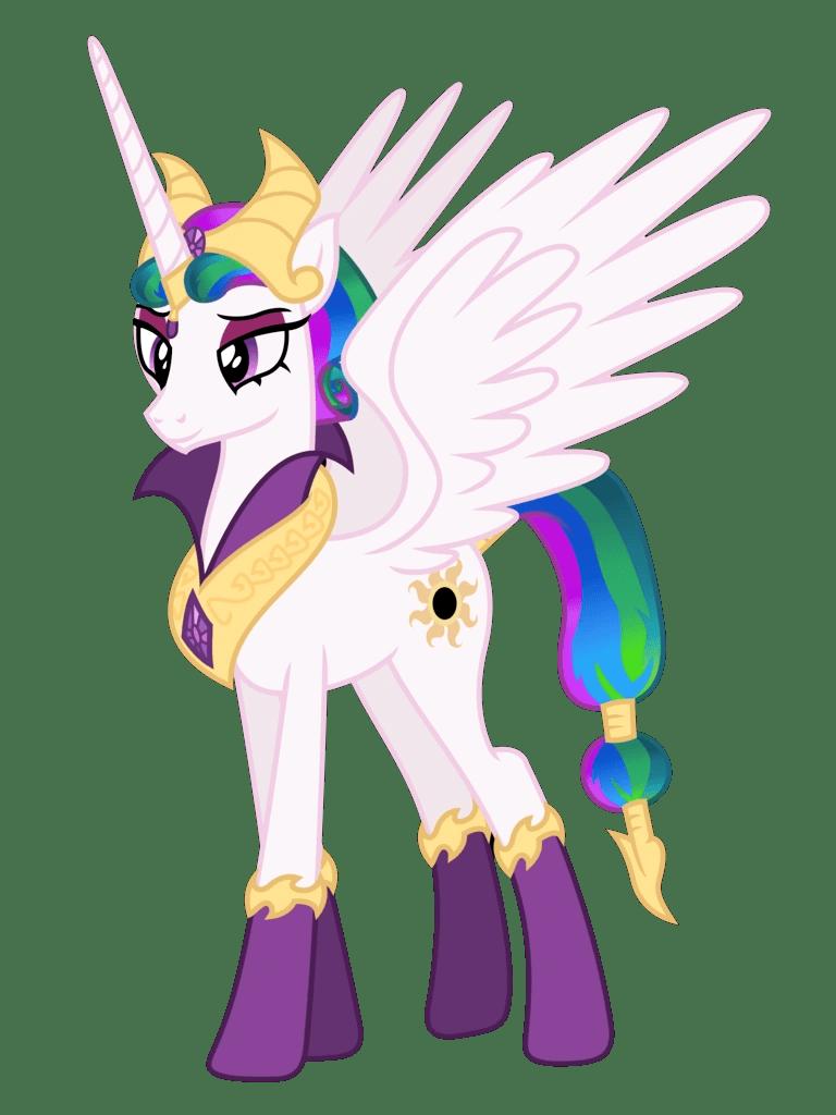 Evil My Little Pony : little, Princess, Celestia, (Reflections, Saga), Villains, Fandom