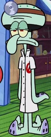Captain Squidward : captain, squidward, Doctor, Negative, Villains, Fandom