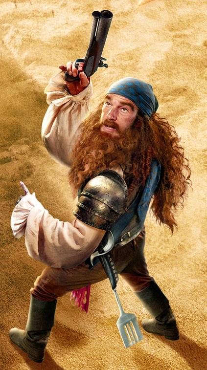 Who Plays The Pirate In Spongebob : plays, pirate, spongebob, Burger-Beard, Villains, Fandom