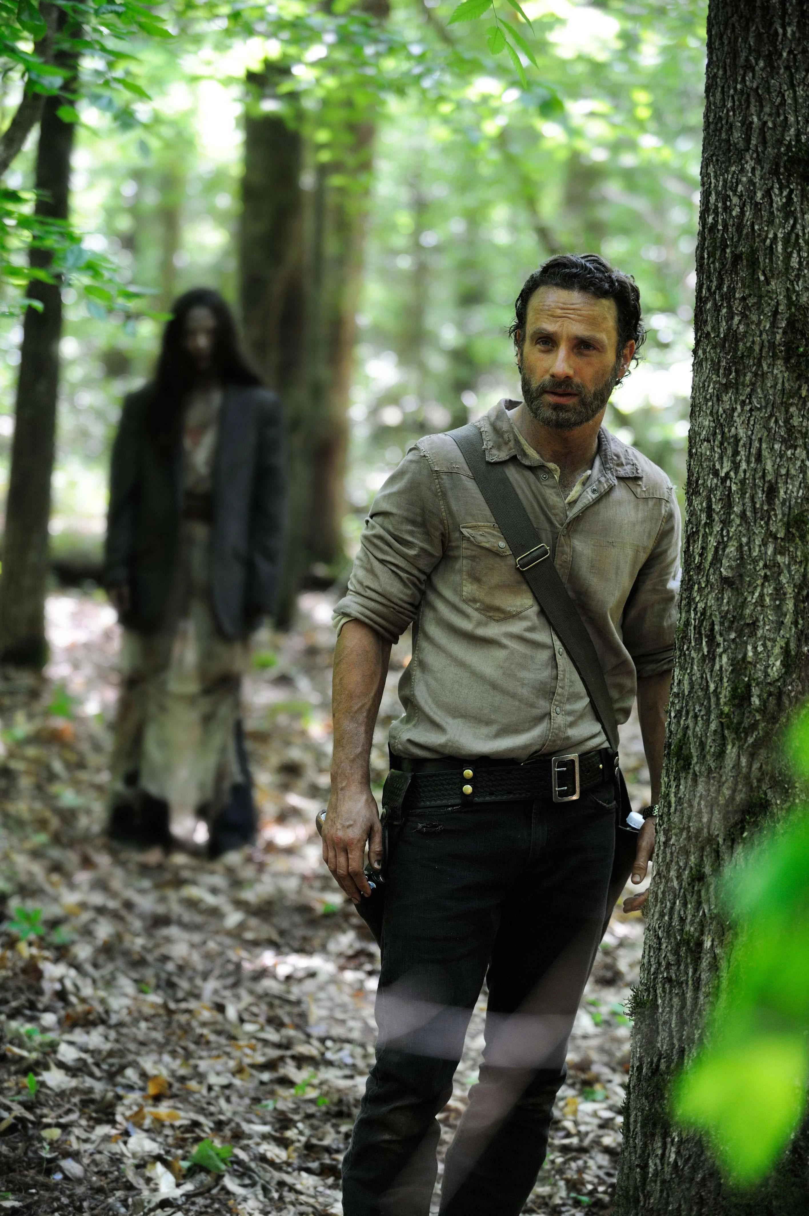 The Walking Dead Saison 1 Ep 1 : walking, saison, Without, Accident/Gallery, Walking, Fandom