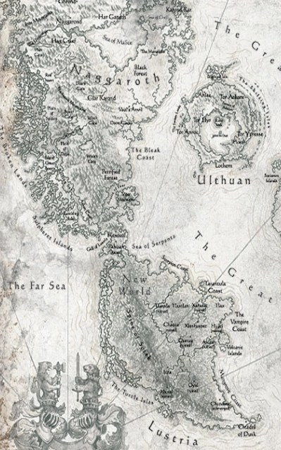 Warhammer Map : warhammer, World, Warhammer, Fandom