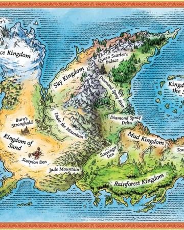 Wings Of Fire Map Of Pyrrhia : wings, pyrrhia, Pyrrhia, Wings, Names, Fandom
