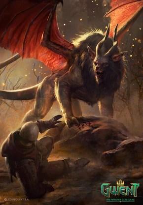 The Witcher 3 Plume De Monstre : witcher, plume, monstre, Manticore, Officiel, Sorceleur