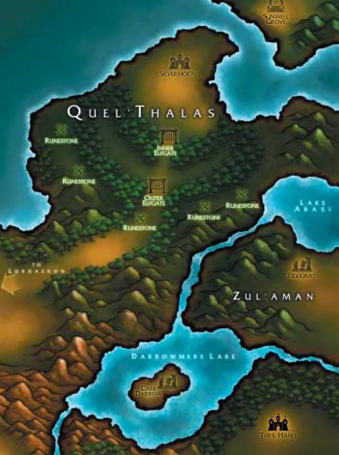 Wow Throne Of Thunder Location : throne, thunder, location, Silvermoon, Wowpedia, Guide, World, Warcraft