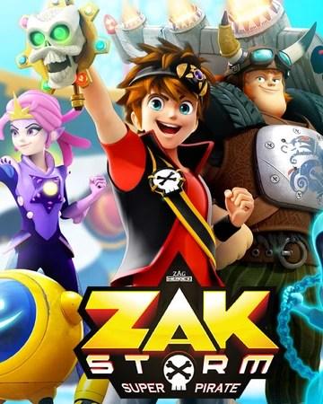 Zak Storm, Super Pirate : storm,, super, pirate, Storm:, Super, Pirate, Zagtoon, Fandom