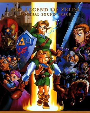 The Legend Of Zelda: Ocarina Of Time : legend, zelda:, ocarina, Legend, Zelda:, Ocarina, Original, Soundtrack, Zeldapedia, Fandom