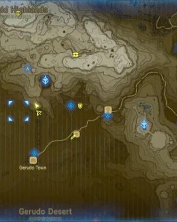 Yiga Clan Hideout Location : hideout, location, Gerudo, (province), Zeldapedia, Fandom