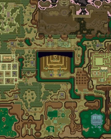 The Legend Of Zelda: A Link To The Past : legend, zelda:, World, Past), Zeldapedia, Fandom