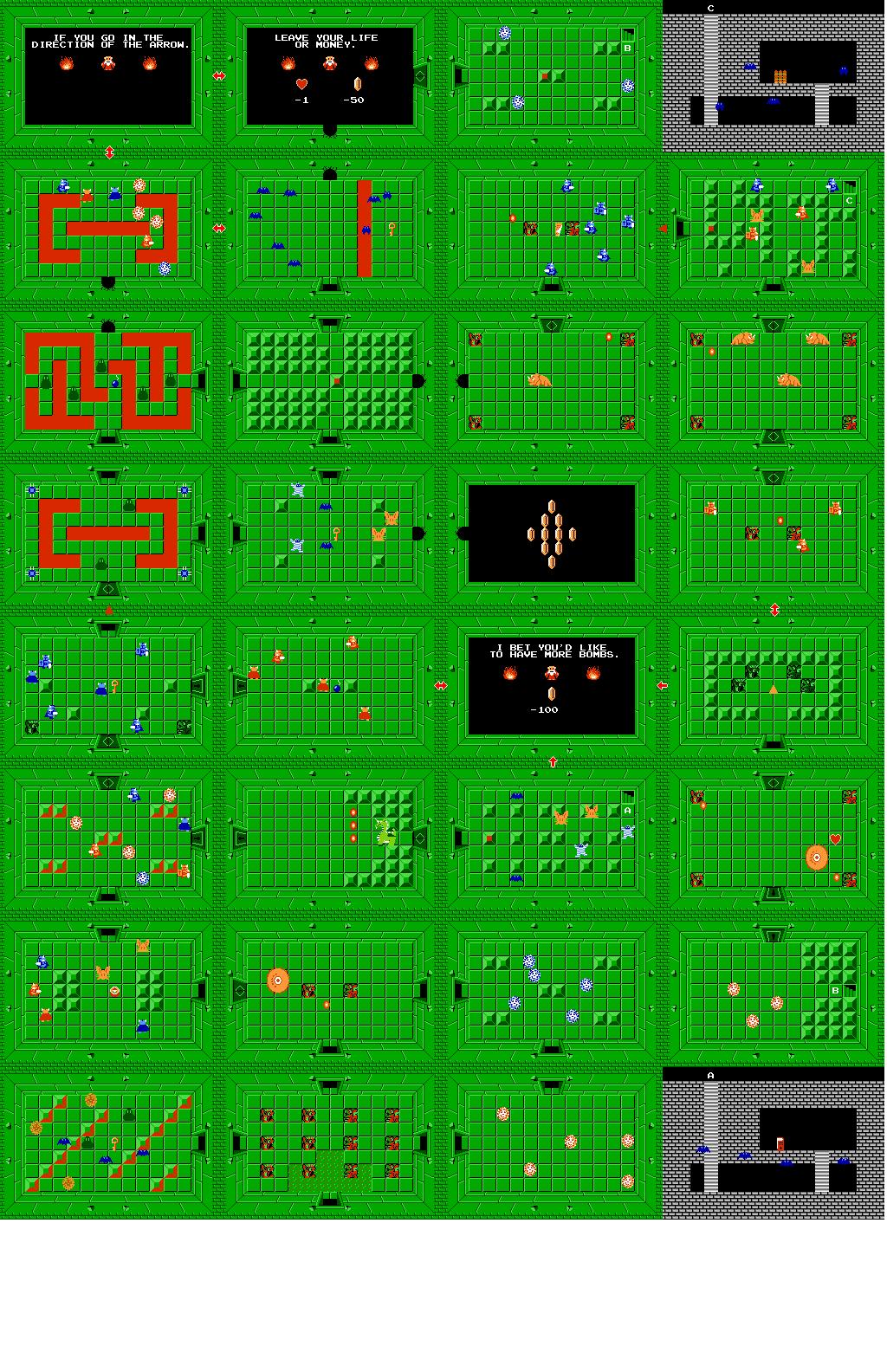 Legend Of Zelda Level 2 : legend, zelda, level, Level, (Second, Quest), Zeldapedia, Fandom