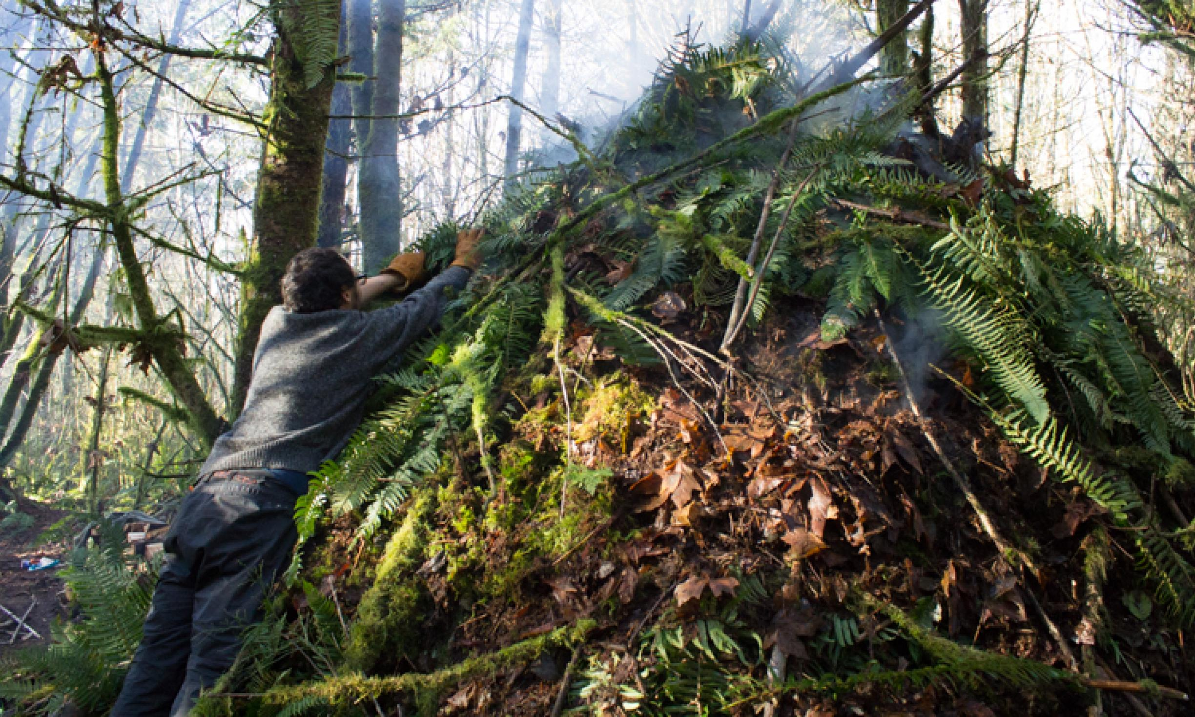 How To Build A Survival Shelter Wilderness Awareness School
