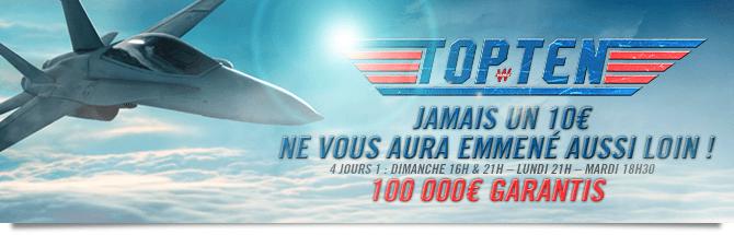 Top Ten Jamais un 10 euros ne vous aura emené aussi loin !