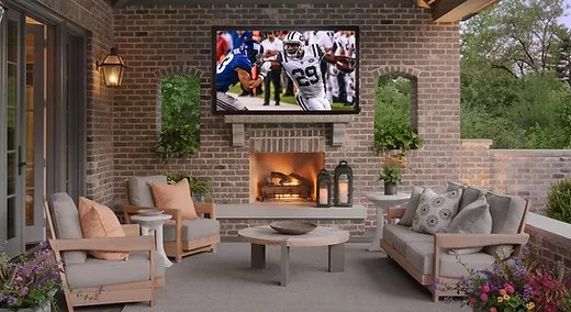 outdoor tv ideas and installation for