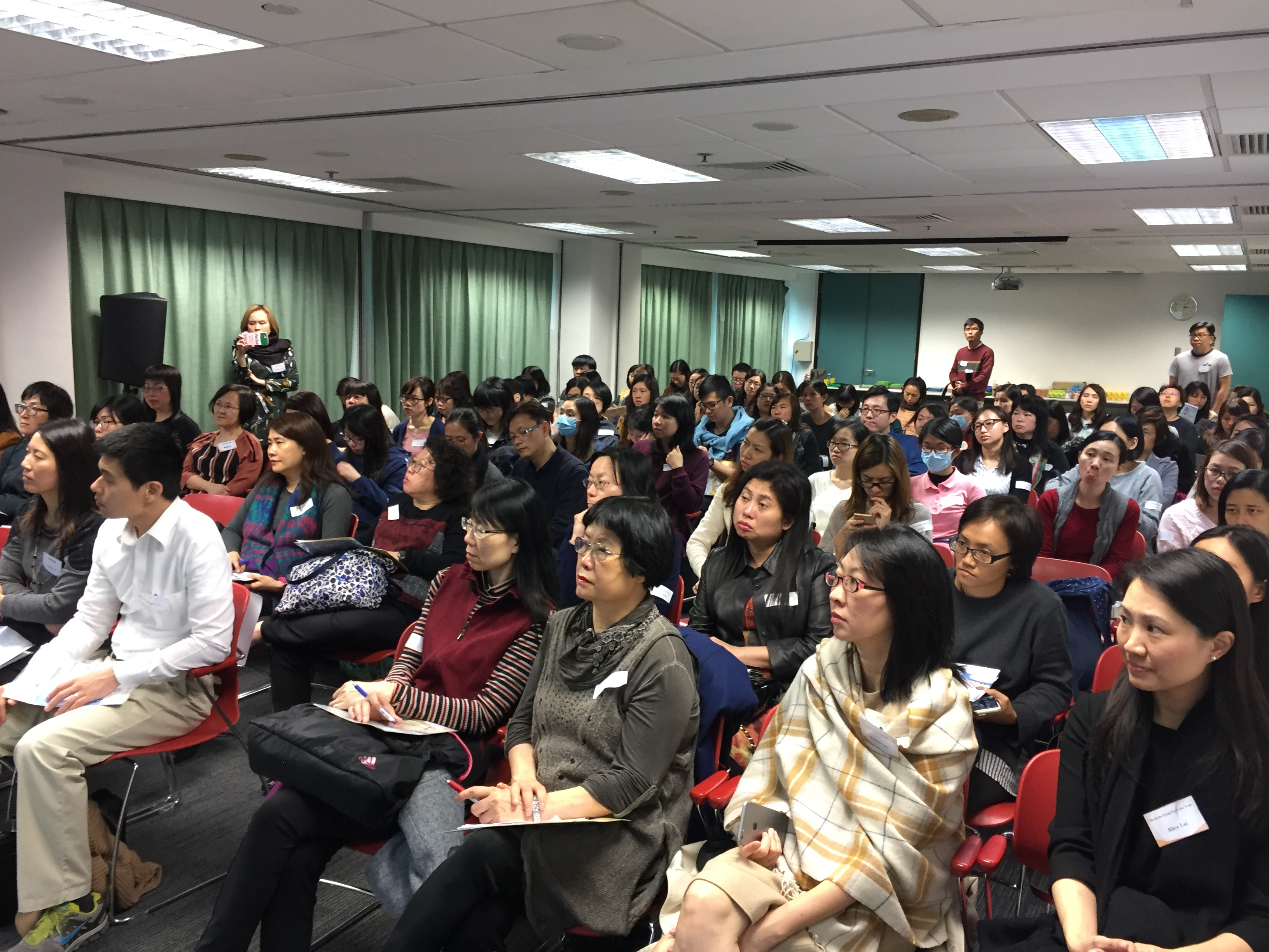 「愉快學中文」非華語幼兒學習app發佈會,全場爆滿!   知識共享協會