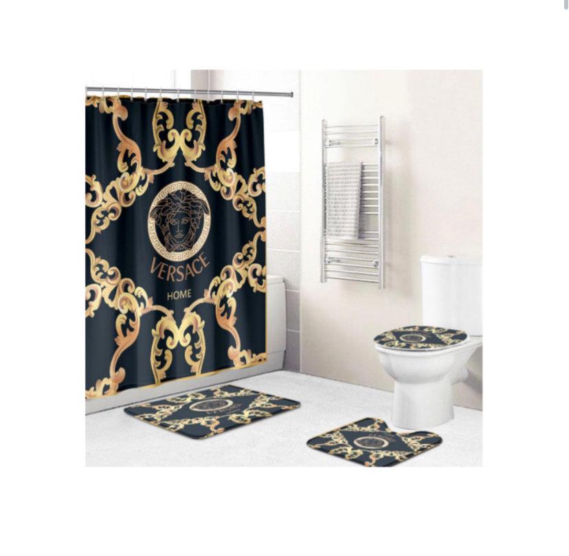 luxury shower curtain set