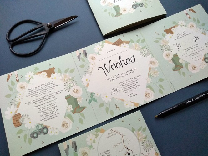 From Sally With Love Bespoke Diy And Printable Wedding