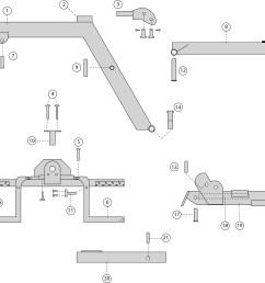 steel parts diagram 1 l boom  [ 3953 x 3674 Pixel ]