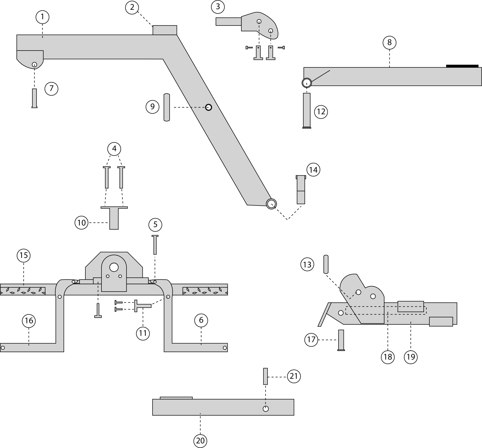 hight resolution of steel parts diagram 1 l boom