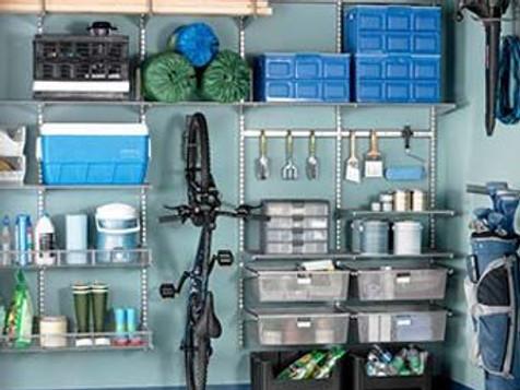 un garage bien range pour une maison