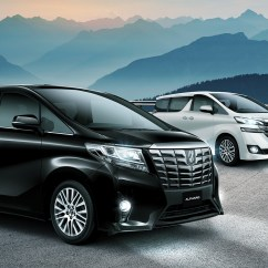 All New Alphard Vs Vellfire Pilihan Warna Grand Avanza 2017 Toyota Chauffeur Service In Bali Just Go To