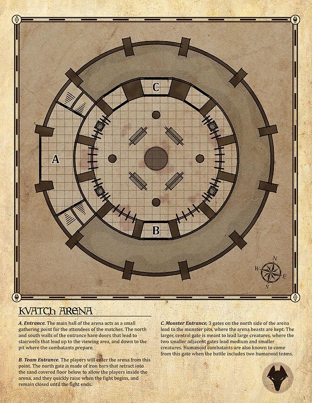 Arena Dnd Map : arena, Arena, Battle, World, Atlas