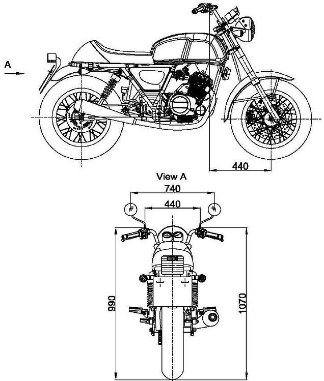 AJS Tempest Roadster 125