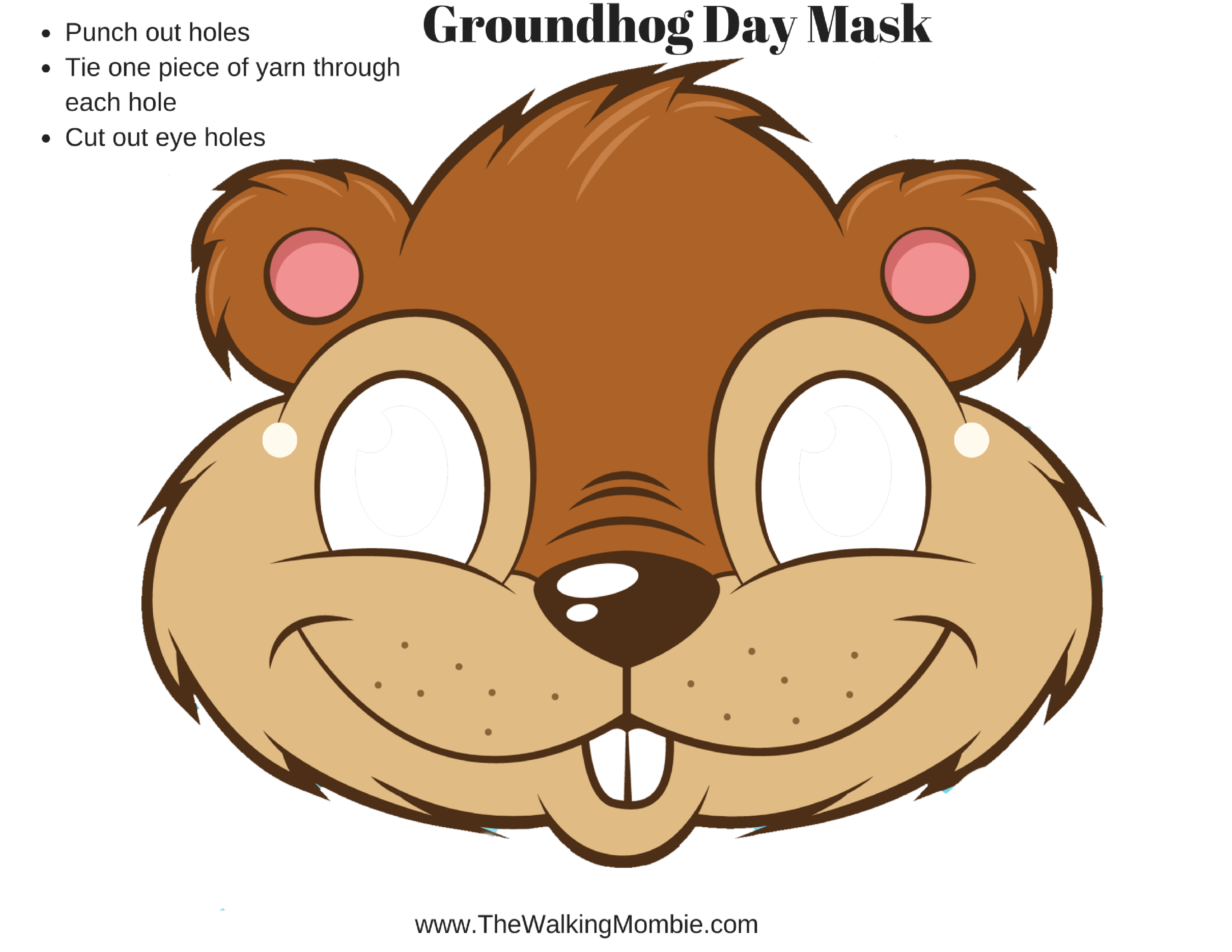 Fun Groundhog Day Activities And Free Printable S For Kids