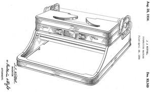 Depression Era Royal Portable Standard and De Luxe Typewriter
