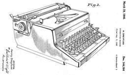 Royal Gray Magic Portable Typewriters