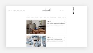 blog design adobe by estie