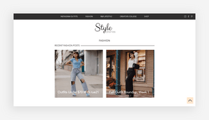blog design style stories
